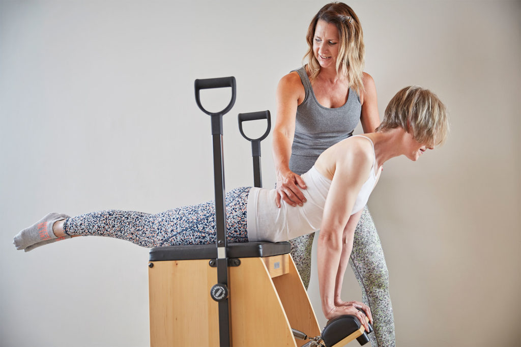 one-to-one Pilates lesson