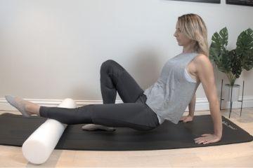 Pilates Calves Roller exercise