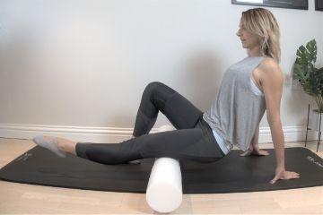 Pilates Hamstring Roller Exercise